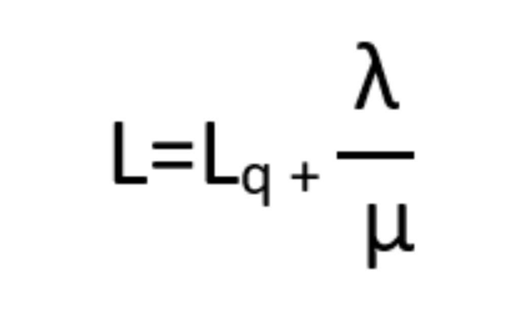 Filas de espera: cálculo de cantidad de agentes promedio en sistema